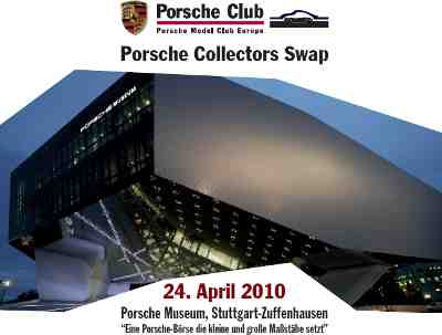 PORSCHE COLLECTORS SWAP