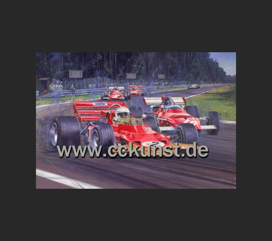 TRIBUTE TO JOCHEN RINDT - WORLD CHAMPION 1970