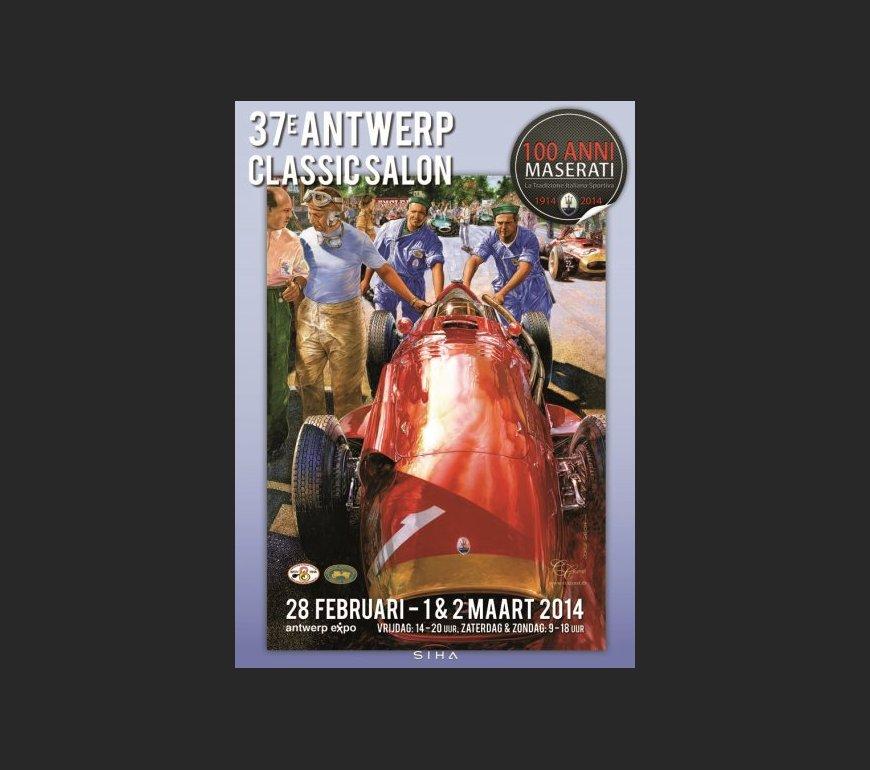 event poster ANTWERP CLASSIC SALON 2014