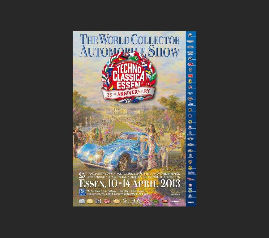 Event poster TECHNO CLASSICA ESSEN 2013