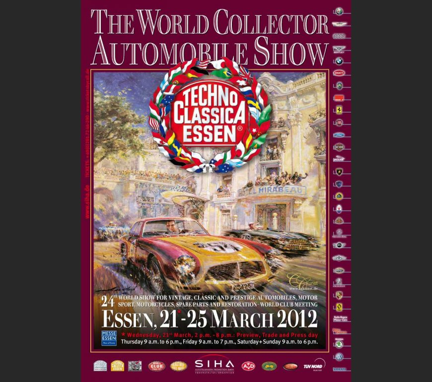 event poster TECHNO CLASSICA ESSEN 2012