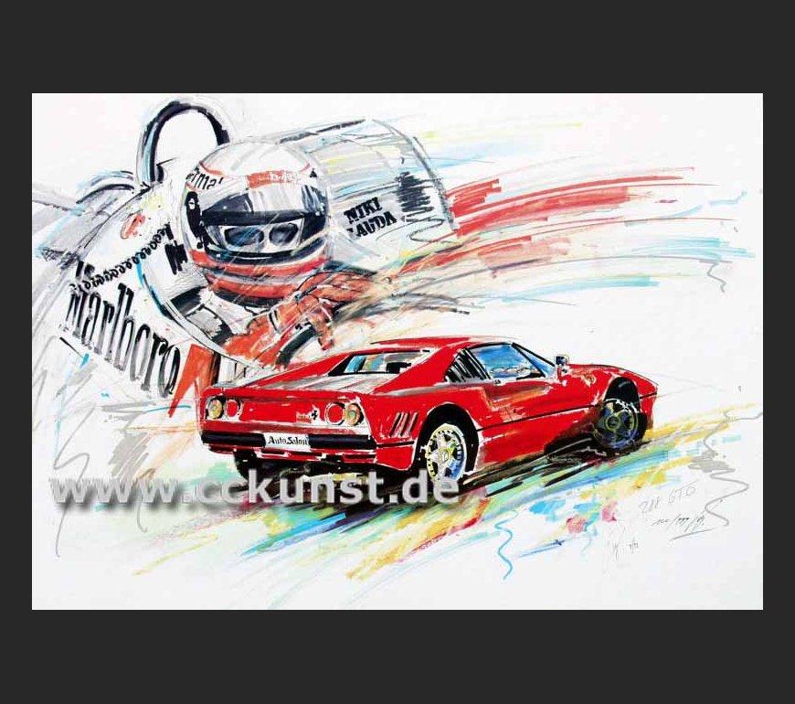 """Niki Lauda Extra"" Bestellnr. 09 F"