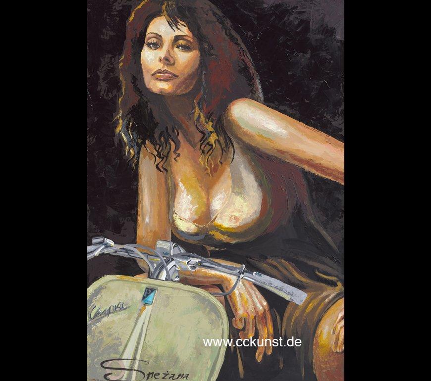 SOPHIA - FARO BASSO Fine Art Print