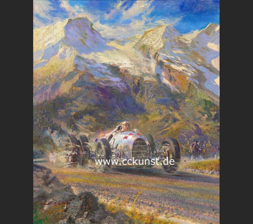 GROSSGLOCKNER 1937 - BERND ROSEMEYER - AUTO UNION