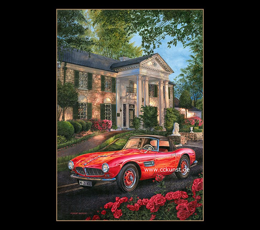 BMW 507 - ELVIS GRACELAND