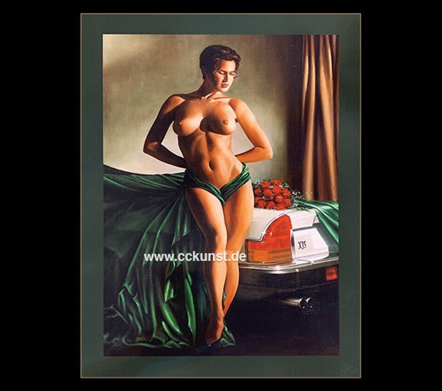 LADY JAG II Fine Art Print