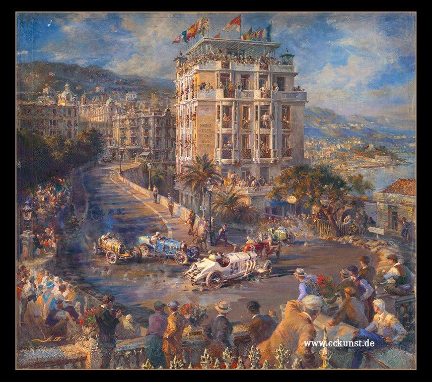 MONACO 1929 - CARACCIOLA