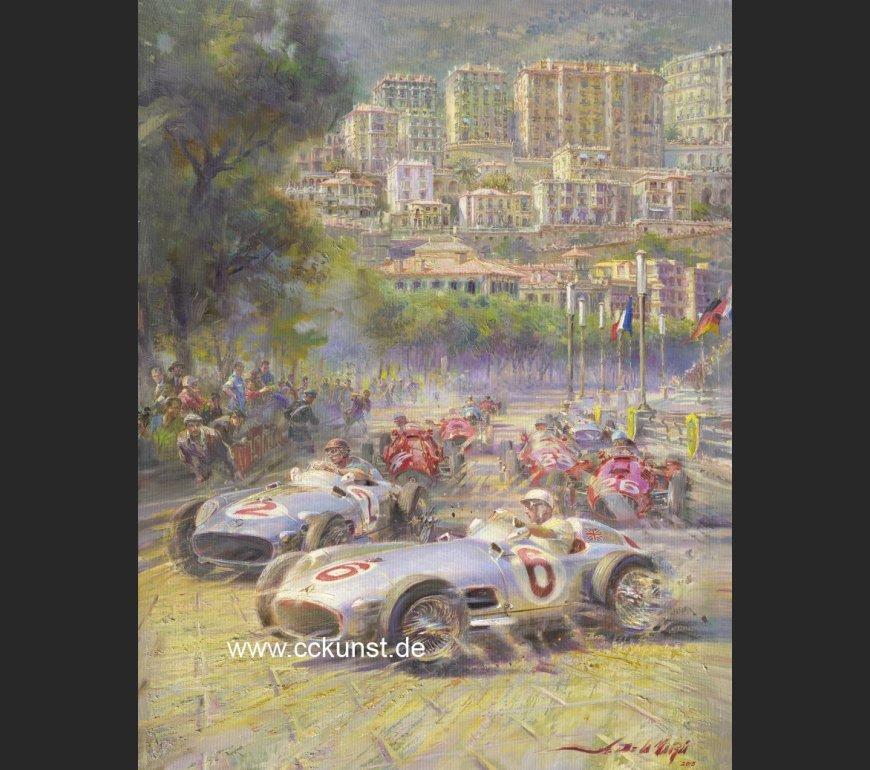 MONACO 1955 - FANGIO / MOSS